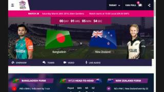 live cricket bangladesh vs new zealand t20 world cup 2016 live cricket streaming match today