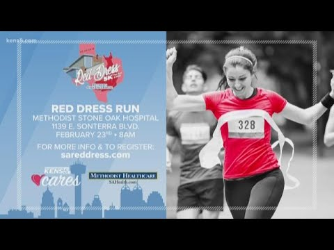 Special story behind this Red Dress Fun Run team