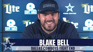 After playing on the chiefs' super bowl team last year, blake bell knows what a dynamic offense looks like, but says his new certainly has some weapons ...