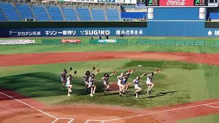 20191116 日本女子ソフトボールリーグ 決勝トーナメントにて #プレイボールズ #ダイビングキャッチ #横浜スタジアム.