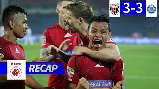 NorthEast United FC 3-3 Jamshedpur FC - Match 79 Recap | Hero ISL 2019-20