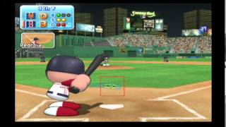 MLB Power Pros (Wii) World Series Game #1 Mets @ Red Sox