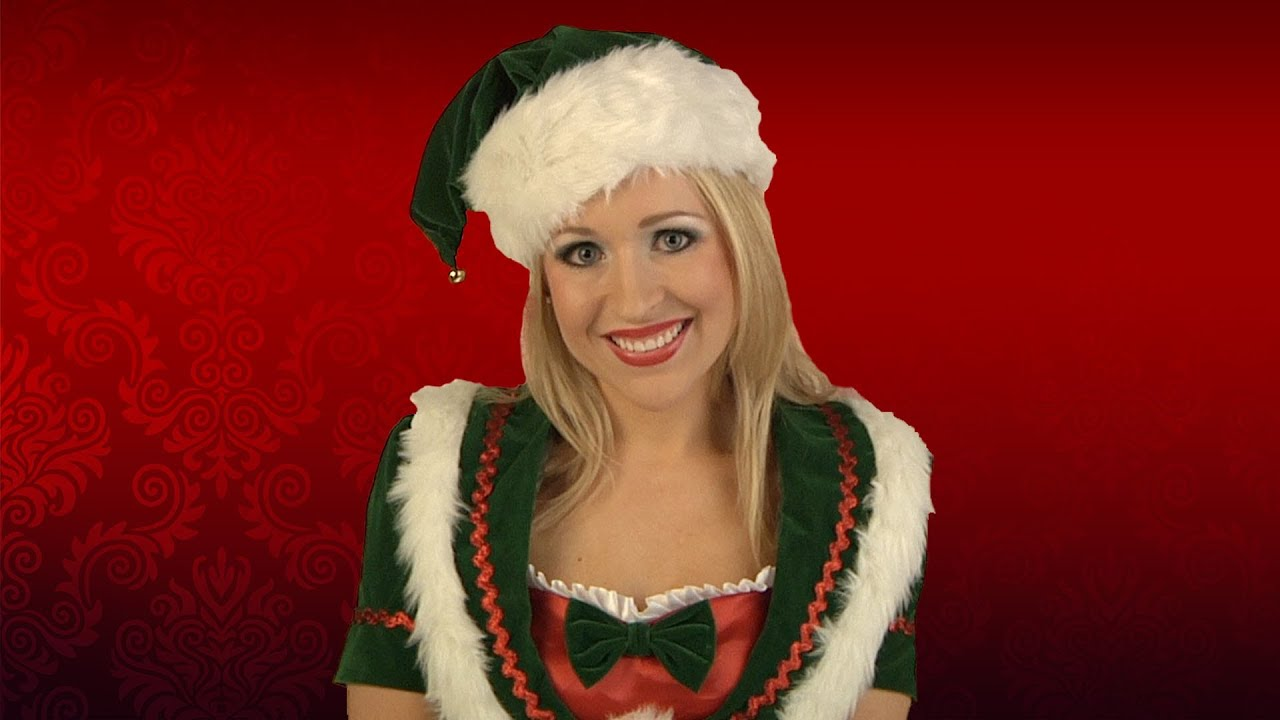 christmas elf costume makeup application youtube