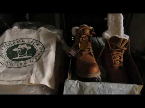 b35e152a4a2e75 Panama Jack 03 IGLOO B1 unboxing - YouTube