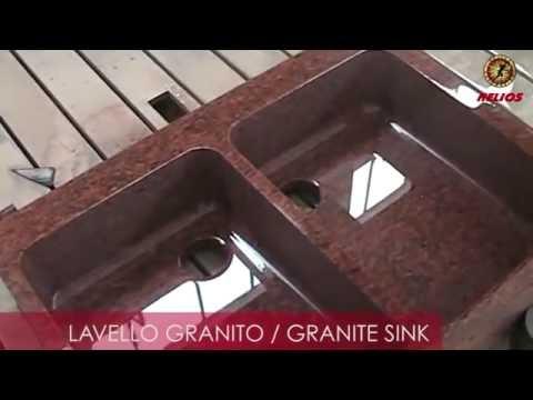 Изготовление гранитной раковины на станке с ЧПУ