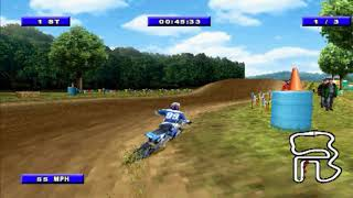 Championship Motocross 2001 feat Ricky Carmichael [Career Mode - Amateur]