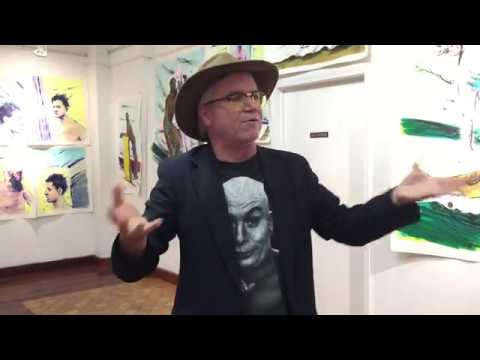 Curator walk thru of Buttnakked art show