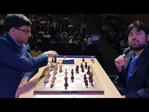 Vishy Anand vs Hikaru Nakamura | Tata Steel Chess India