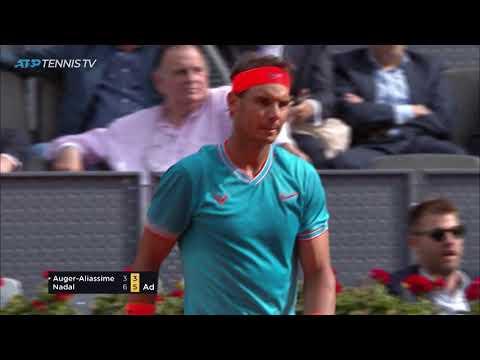 Brutal Nadal Shots v Auger-Aliassime | Madrid 2019