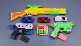 Box of Toys !!! Guns Toys Video for kids!with Many Colored Toys Equipment
