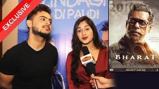 Jannat Zubair And Millind Gaba Reaction On Salman Khan's BHARAT