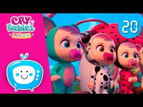 💙 Сборник 20мин.! 🎉 CRY BABIES 💧 MAGIC TEARS 💕 Детский мультфильм 🎈 Для зрителей старше 0-х лет