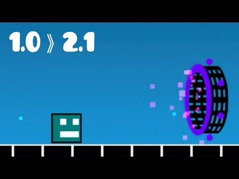 BEST Geometry Dash Animation / Cubes Story Level Ever : The Game Story - Vrymer (History Of GD)