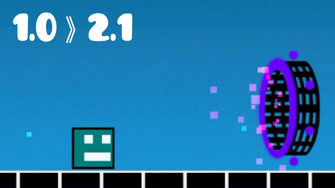 Best Geometry Dash Animation Cubes Story Level Ever
