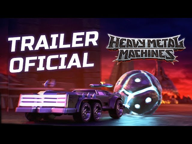 Heavy Metal Machines - Trailer Oficial PT