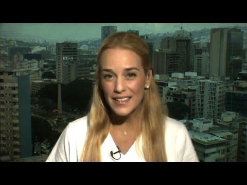 Amanpour interviews Venezuela's Lilian Tintori