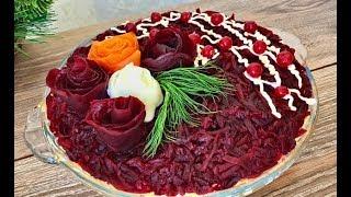 Салат «ВОДЕВИЛЬ»! Простой набор продуктов, а вкус потрясающий!
