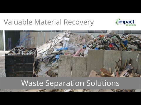 C&D (Construction & Demolition) Waste Separation - Reducing