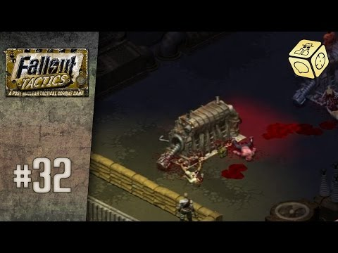 Saving the generators on hard difficulty - Let's Play Fallout Tactics Redux #32