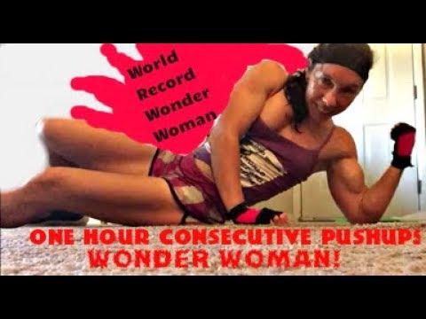 Wonder Woman's Pushup Hour of Power
