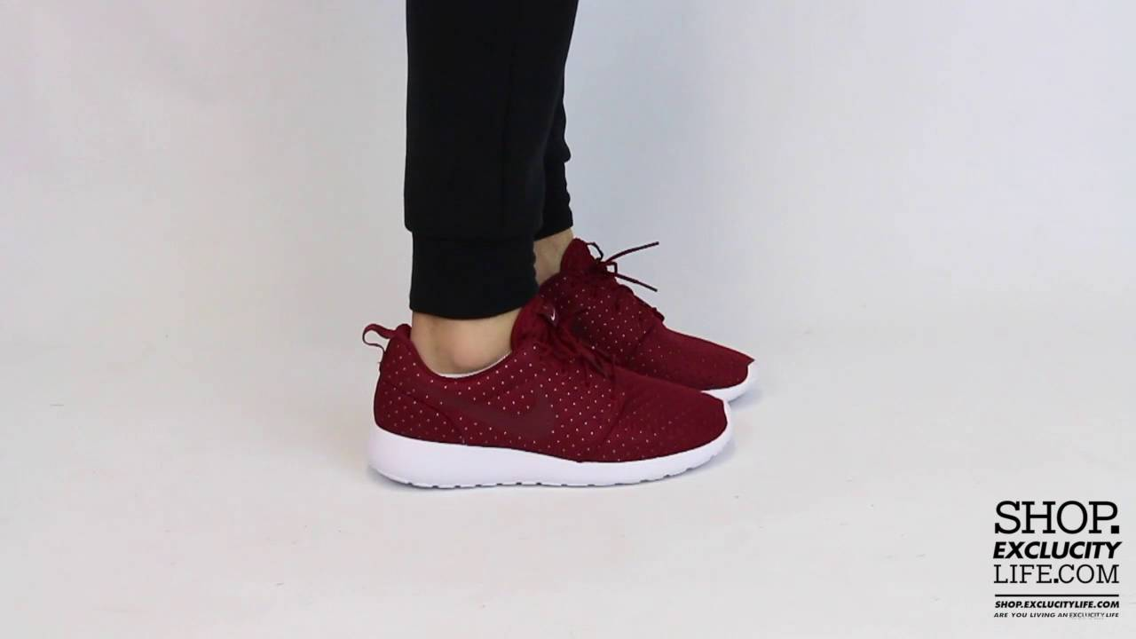 b22d1db917ea Nike Roshe SE - Team Red - On-feet Video at Exclucity - YouTube