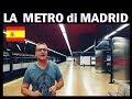 Nella Metro di Madrid con Lambrenedetto