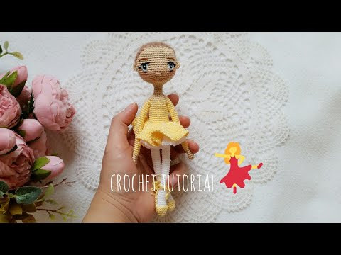 Ballerina cat doll crochet pattern - Amigurumi Today | 360x480