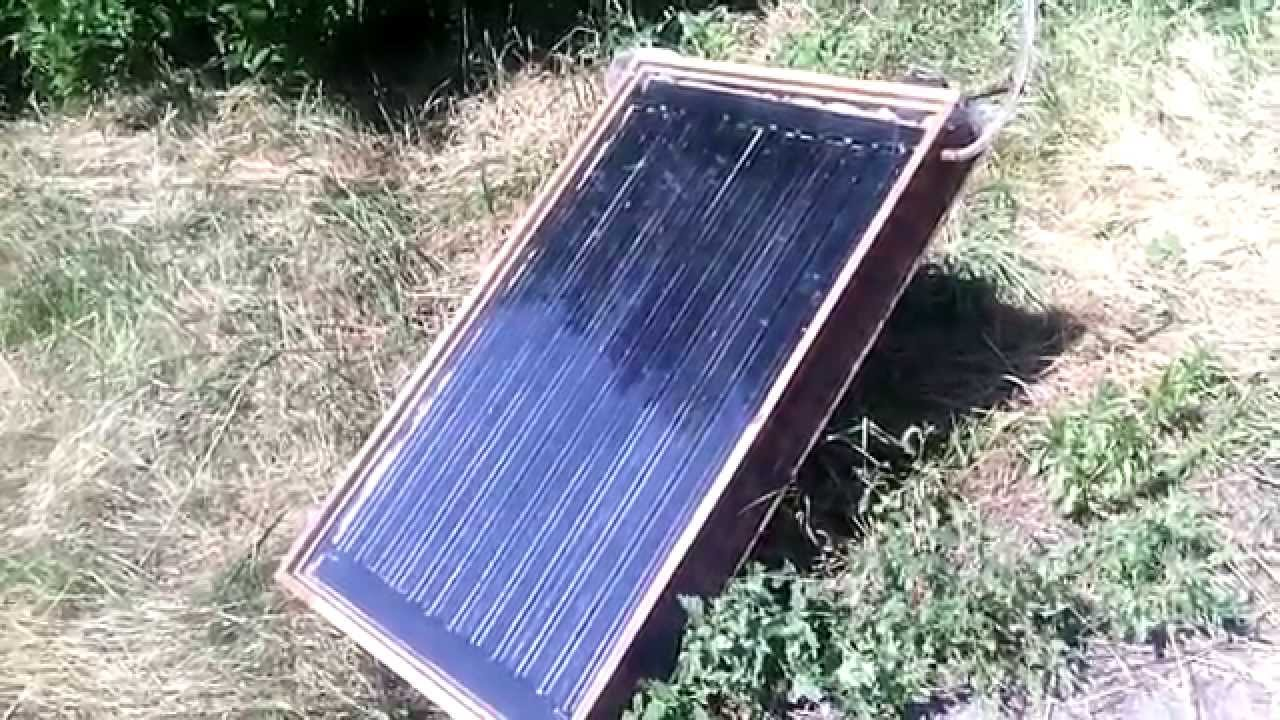 Как сделать солнечный коллектор своими руками 74