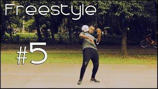 Como aprender Futebol Freestyle: parar a bola na nuca, testa e peito! #5 - FOOTZ