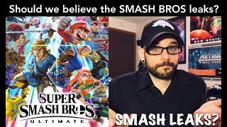 Should we believe these new Smash Bros Ultimate LEAKS? (SPOILERS) | Ro2R