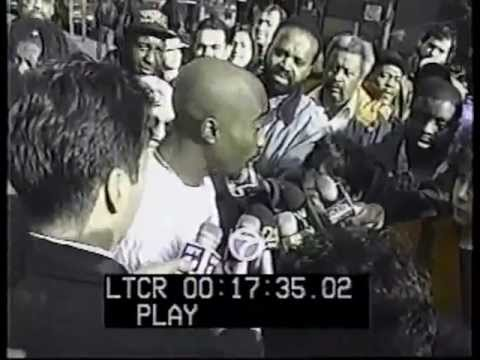 Tupac in front of court (1994) (HQ)