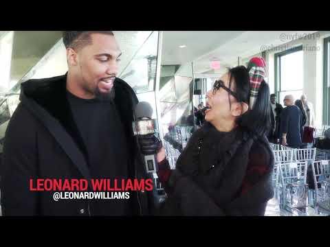 Street Style with the SPECTACULAR Leonard Williams | NYFW 2019