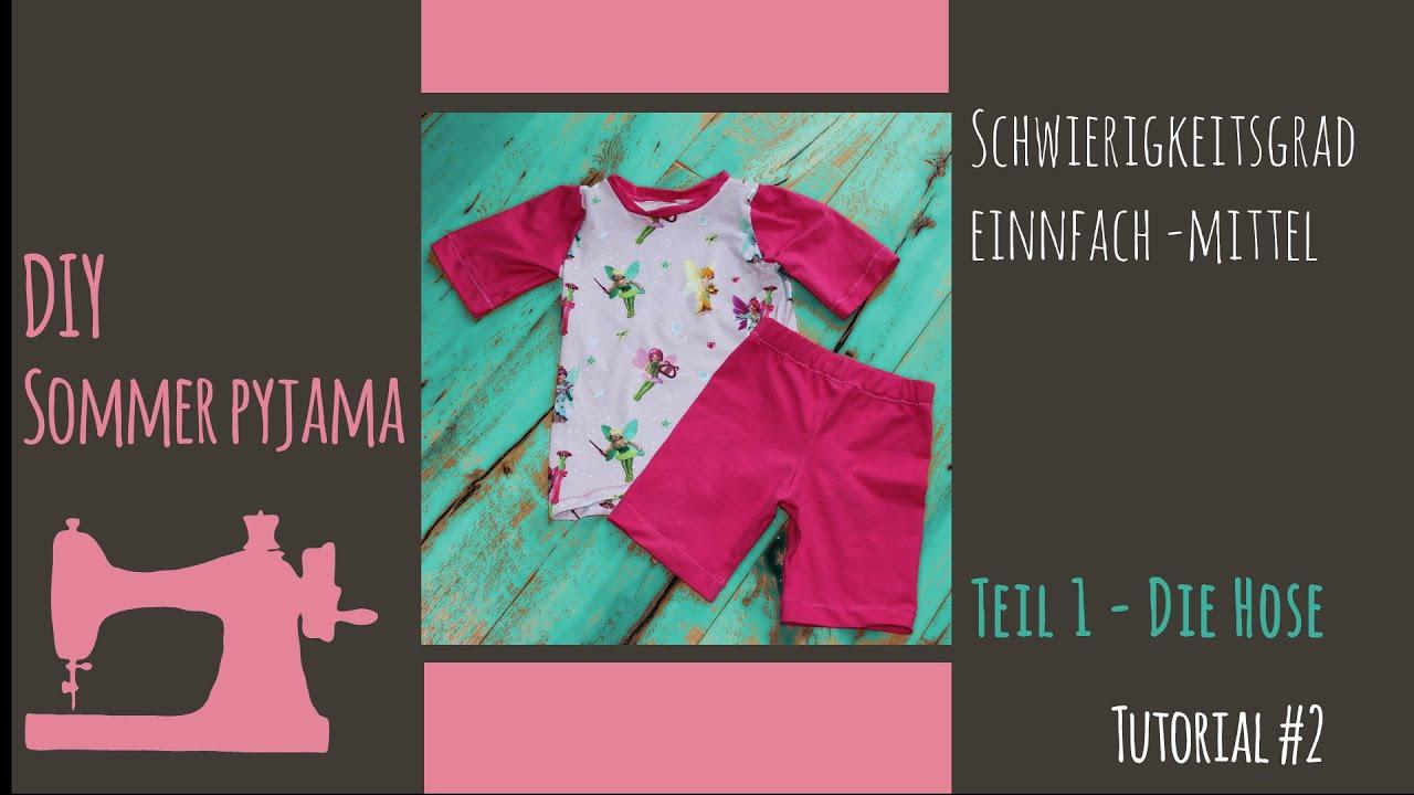8b01a467e3 Nähanleitung Sommer Pyjama for Kids Teil 1