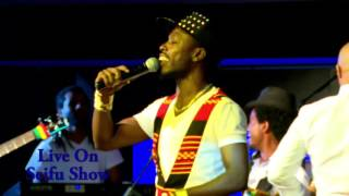 "Singer Asgegnew Ashko Performing  His Music Called ""Dendesho""  Live on  Seifu Fantahun Show"