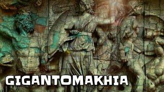 GIGANTOMAKHIA ! Dewa Olympus vs Gigant ( Mitologi Yunani )