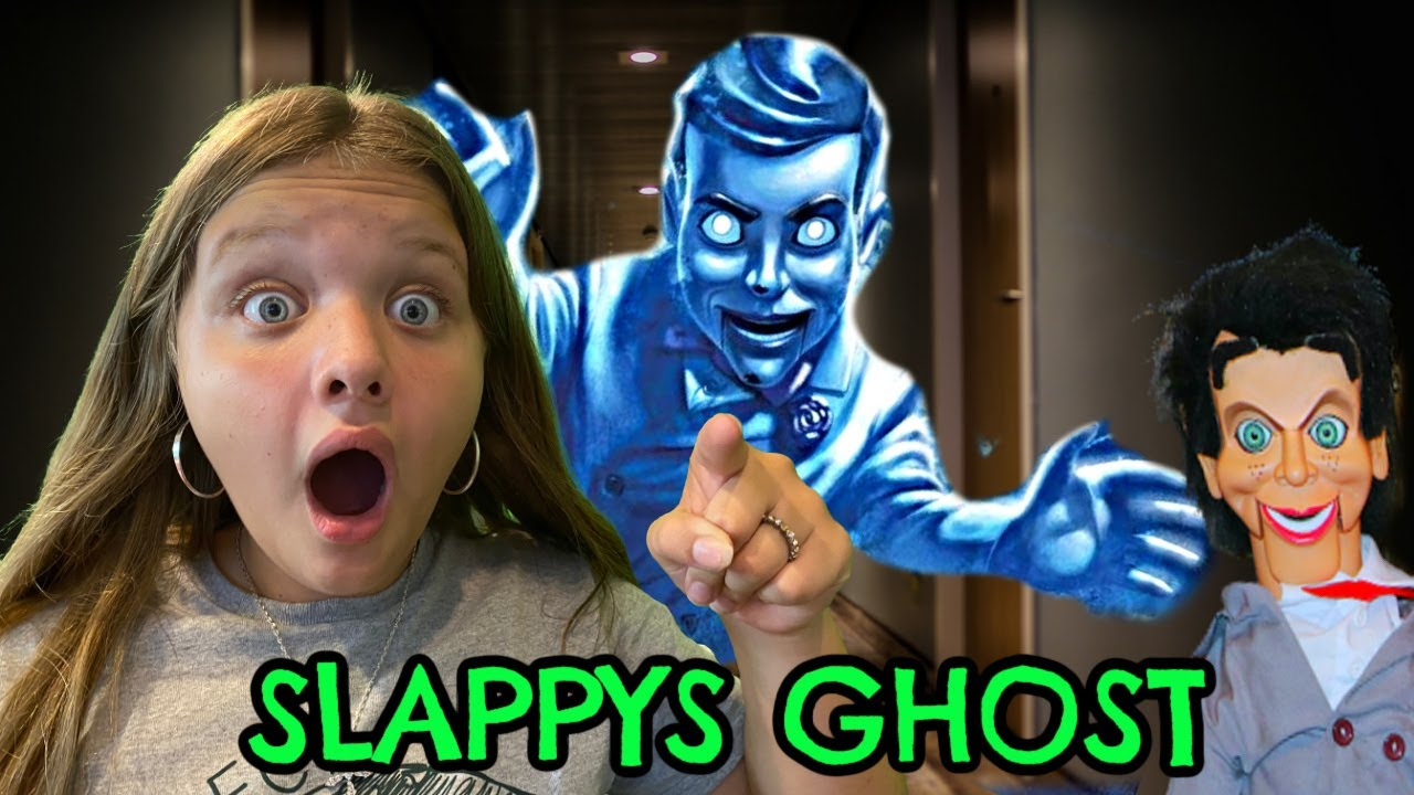 SLAPPY's GHOST is Back!! Aubrey and Caleb SEARCH for SLAPPY!