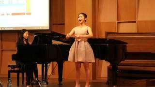 Yi-Lin Wu吳亦琳聲樂女高音高中A組特優第一名,演唱Les oiseaux dans la charmille