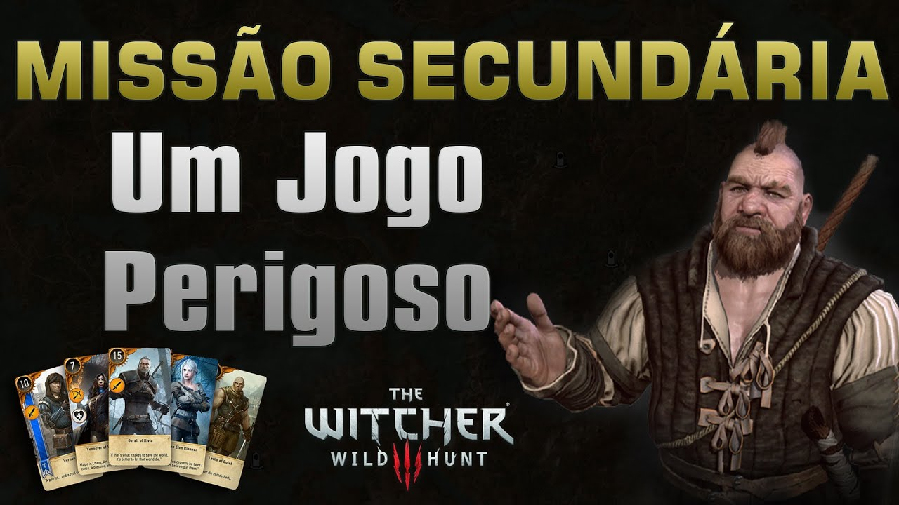Missao Um Jogo Perigoso Novigrad The Witcher 3 Youtube