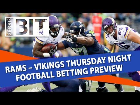 L.A. Rams vs Minnesota Vikings Betting Preview | Sports BIT Clip | Thursday Night Football
