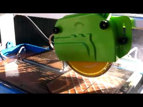 How To Cut Tiles Properly - Tile Cutting With A SIMA PERLA 250