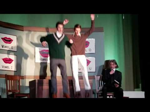 "Josh, Ethan, Alex in ""Moses Supposes"" - TAR ""Singing in the Rain"" 2017"