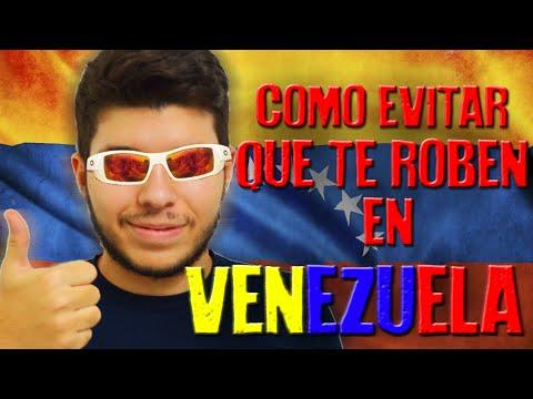COMO EVITAR QUE TE ROBEN EN VENEZUELA