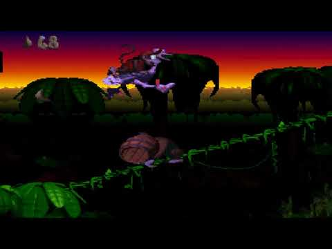 REUPLOAD Let's Race Donkey Kong Country (SNES) Gegen TheUncleWulf - Part 2