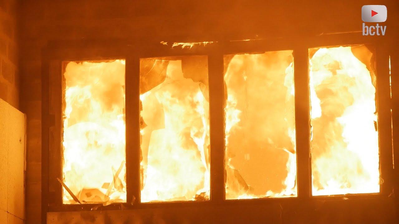 Пожежа цеху по виробництву меблів у Білій Церкві 🔥