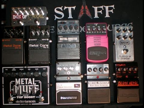 The Ultimate Metal Pedal Shoot-Out : 10 Pedals in 10 Minutes Wrap-Up for 30 Pedals in 30 Days