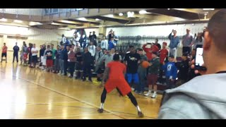 Kyrie Irving Embarrassing Kids at Montclair State University FULL GAME Crazy Handles and Moves thumbnail