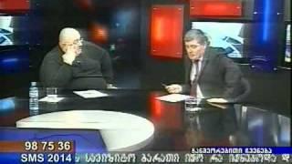 tv caucasia 12 03 2009 kaxa bendukidze part 3