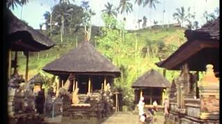 BALI the lovely Ubud district in 1981