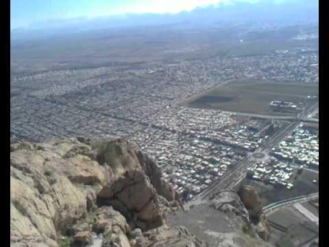 منظره شهرکرمانشاه ازبالای کوهVideos beautiful view of the city of Kermanshah in Iran