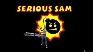 Serious Sam: 1st Encounter gameplay (PC Game, 2001)